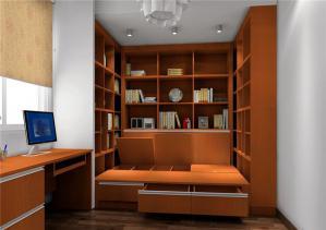 中式书房榻榻米整体装修