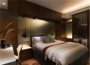 中式十平米小卧室装修图