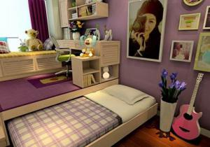 新款榻榻米卧室设计