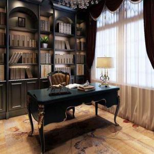 欧式别墅新款书柜