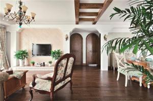 简约美式客厅家具