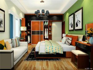 简易欧式家具衣柜