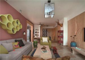 现代小客厅家具