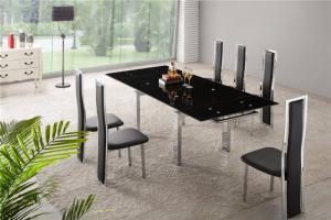 时尚隐形餐桌