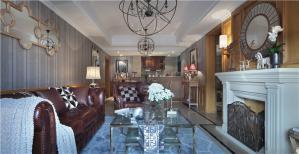北欧地中海风格好看的客厅
