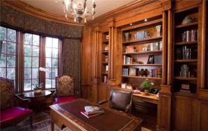古典书房装修效果图装修