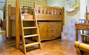 榆木定制儿童家具上下床