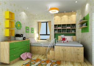 儿童房榻榻米设计与装修