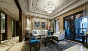 三居室现代新中式风格
