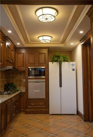 实木整体厨房橱柜
