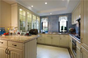 简易厨柜实景图