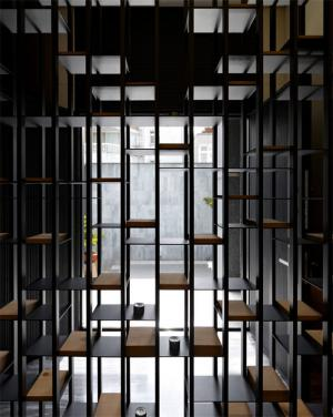 创意餐厅隔断柜
