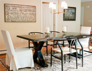 时尚餐厅餐桌