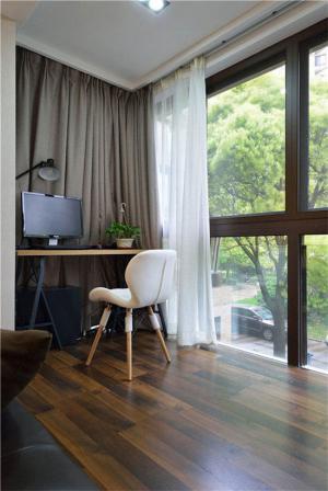 小阳台装修效果图改造成书房