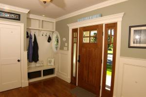 美式家庭家庭装修玄关效果图