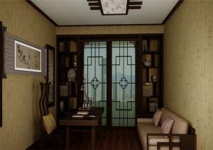 中式书房装修效果图设计图