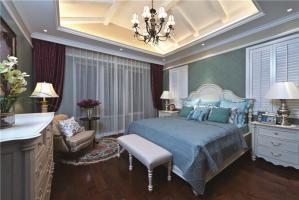 主人房装修欧式床