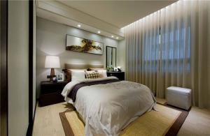 现代小卧室装修案例