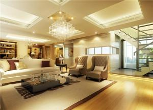 公寓客厅布艺沙发