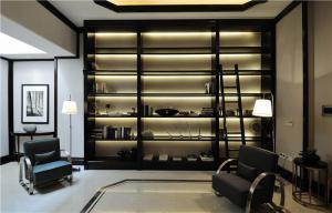 书房中式酒柜