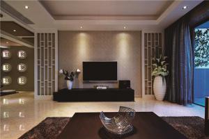 现代背景墙电视柜
