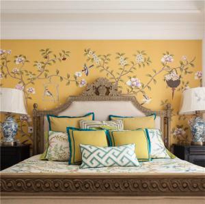 中式卧室床