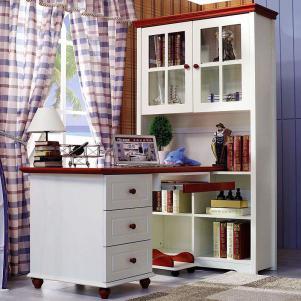 书柜组合儿童书桌