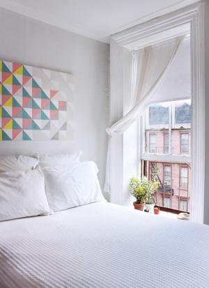 小阳台改卧室效果图实景图