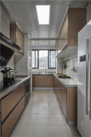 香槟色橱柜厨房装修