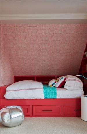 美式儿童房阁楼设计
