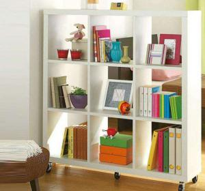 可移动的简易书柜