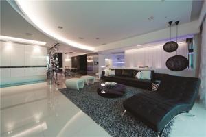 简约长方形客厅家具