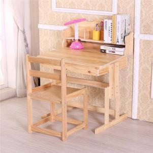 实木儿童书桌