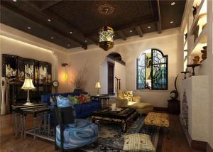 多功能美式客厅家具