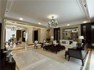 小清新美式客厅家具