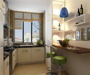 厨房吧台欣赏