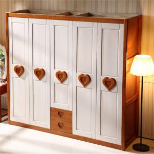 小清新主卧衣柜