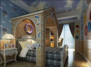 小木屋创意儿童房