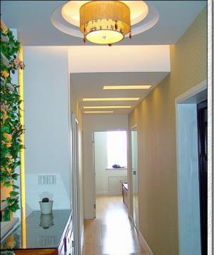 玄关吊顶装修效果图灯具搭配