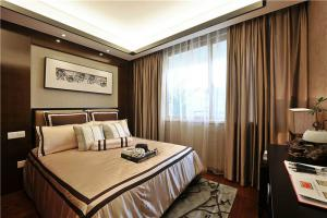 新中式风格次卧设计图片