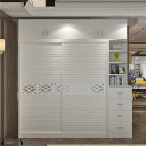 公寓现代简约整体衣柜
