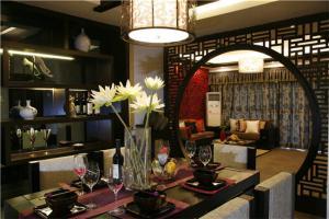 新中式酒柜餐边柜