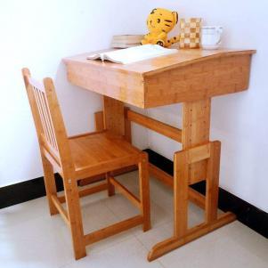 全竹制儿童学习桌