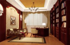 中式书房新款书柜