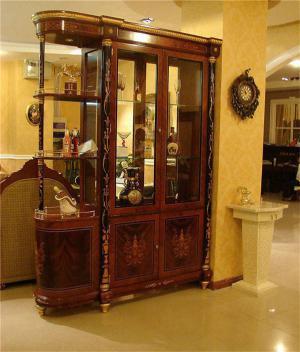 转角家装设计酒柜