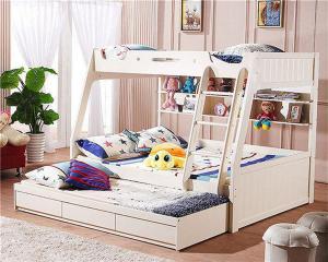 卧室二层床实拍图