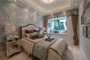 现代带飘窗的卧室装修