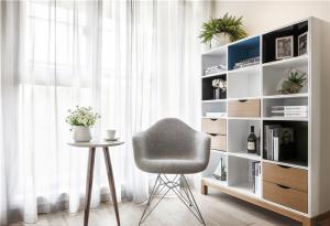 现代简约矮书柜