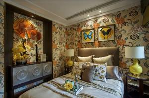 欧式卧室装修组合