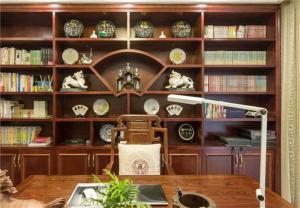 好看的最新中式书柜